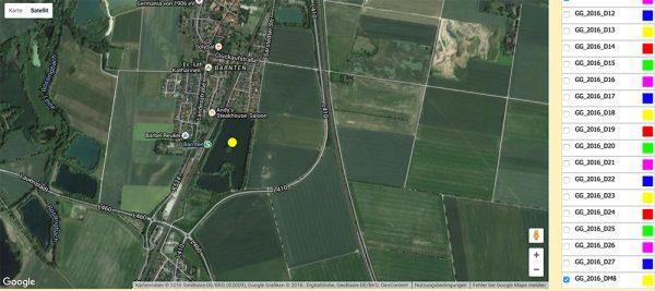 GPS Tracking von Graugans GG_2016_DM8 16-25.06.2016