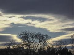 Wolken über dem Galgenberg